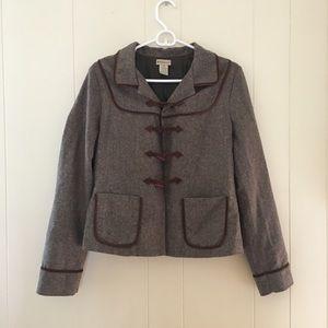 ANTHROPOLOGiE Elevenses brown jacket